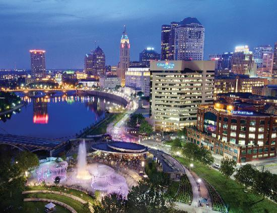 Columbus makes a New York Times list of 52 places in the world to visit .