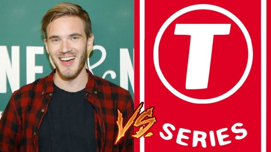 PewDiePie+and+T+Series+vie+to+be+the+first+to+reach+100+million+subscribers.