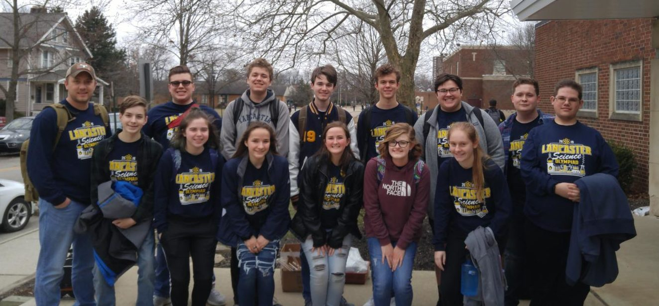 Members of the LHS  2018-2019 Science Olympiad