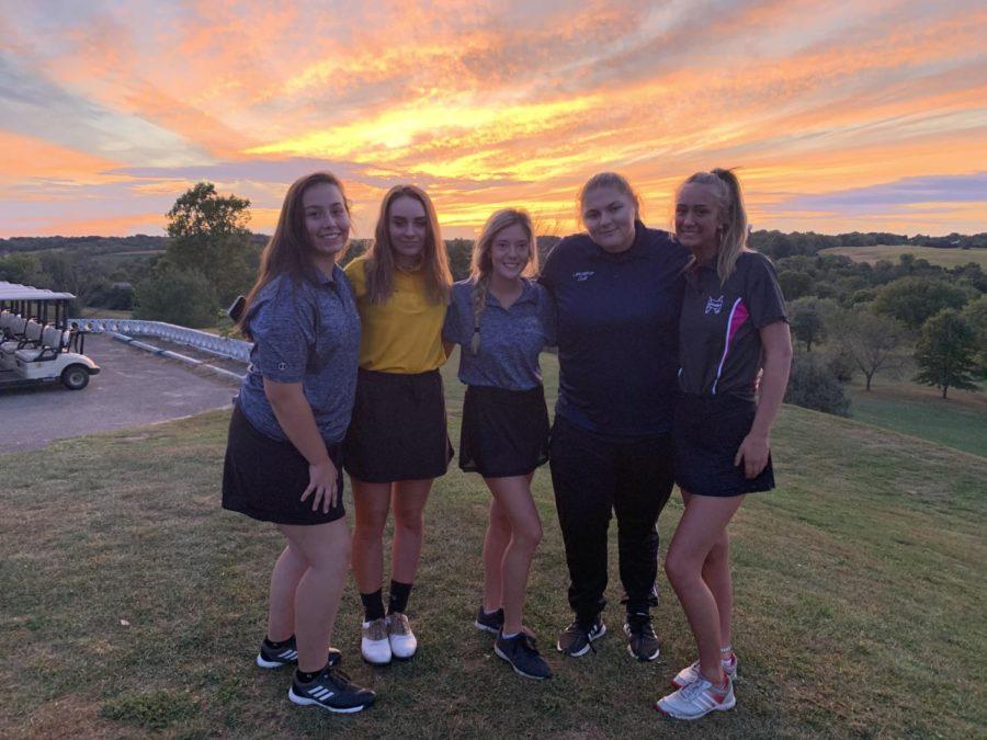 LHS+2019-2020+Girls%27+Golf+team.++Photo+courtesy+of+Stedman.