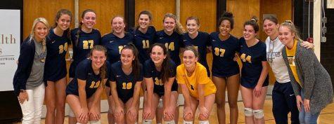 2019-2020 LHS Varsity Volleyball team. Courtesy of @galesveeb on Twitter.