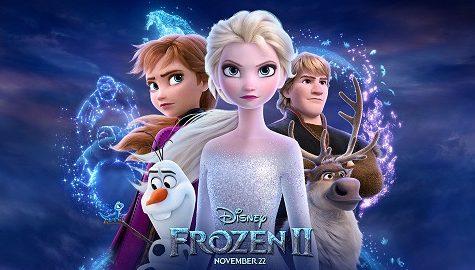 Movie poster of Disney's Frozen 2.  Image courtesy Disney.