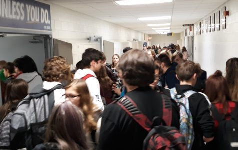 Students' Solution to Crowded Hallways