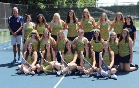 LHS 2019-2020 Girls tennis team