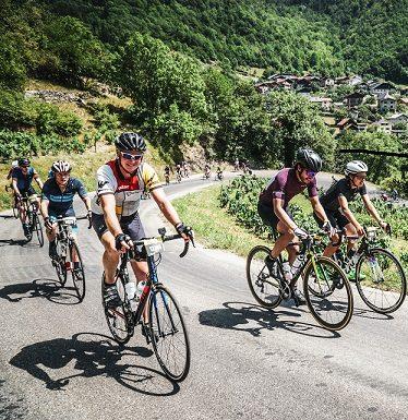 LHS teacher, Thomas Stedman rode in the famous Tour de France.
