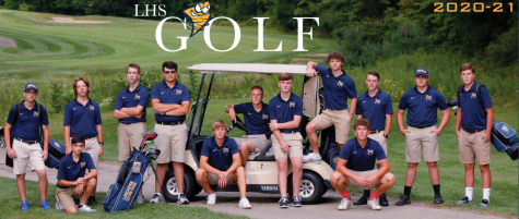 LHS 2020-2021 Boys' Golf team