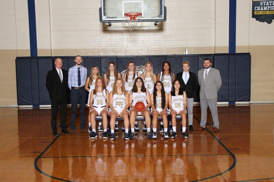 2020-2021 LHS Girls Varsity Basketball team. Photo courtesy LCS.