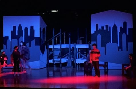 LHS Drama Club rehearses for their upcoming play, Annie.