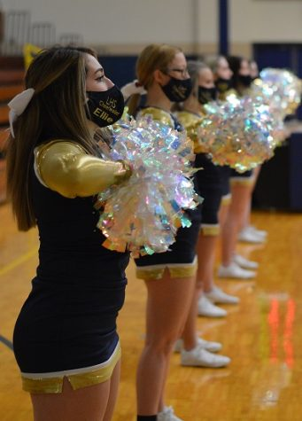 LHS Cheerleaders.  Photo courtesy of Lindsey Strittmatter.