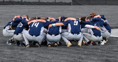 Lancaster High School Baseball Team. Photo courtesy of Hallie Ritchie