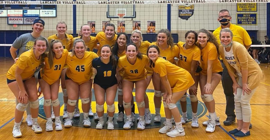Volleyball+players+and+coaches.+Photo+courtesy+of+Ingram.